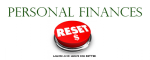 Personal Finance Reset Button