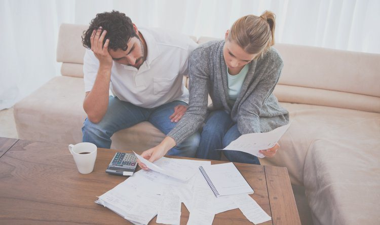 Couple who is discouraged and feel stuck financially