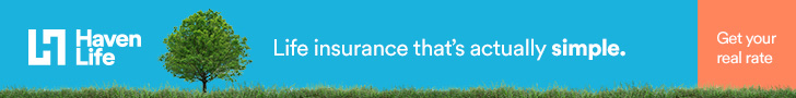 HavenLife Insurance link - get quotes to save money on life insurance